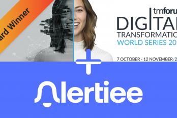 Alertiee team wins 2020 Catalyst Team Award at Digital Transformation