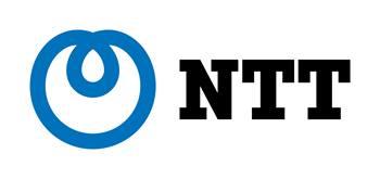 NEW blue NTT Horizontal